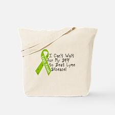 Lyme disease Awareness Ribbon – BFF Tote Bag