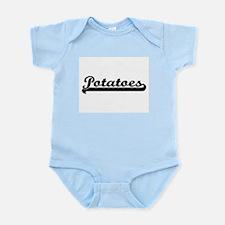 Potatoes Classic Retro Design Body Suit