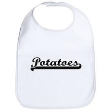 Potatoes Classic Retro Design Bib
