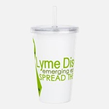 Lyme Disease Ribbon wi Acrylic Double-wall Tumbler