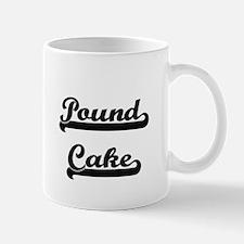 Pound Cake Classic Retro Design Mugs