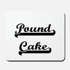 Pound Cake Classic Retro Design Mousepad
