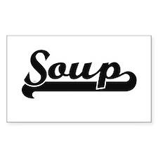 Soup Classic Retro Design Decal