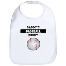 Daddys Baseball Buddy Bib