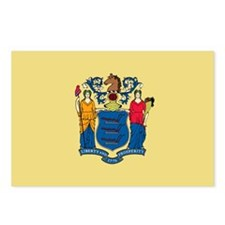 New Jersey State Flag Postcards (Package of 8)
