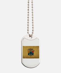 New Jersey State Flag VINTAGE Dog Tags