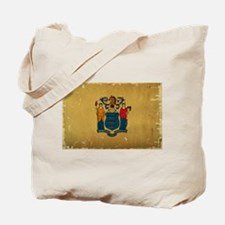 New Jersey State Flag VINTAGE Tote Bag