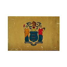 New Jersey State Flag VINTAGE Magnets
