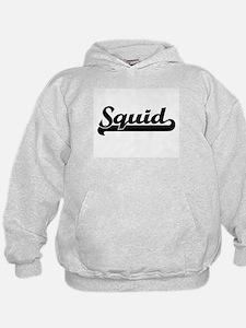 Squid Classic Retro Design Hoodie