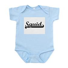 Squid Classic Retro Design Body Suit