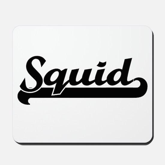 Squid Classic Retro Design Mousepad