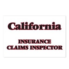 California Insurance Clai Postcards (Package of 8)