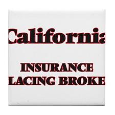 California Insurance Placing Broker Tile Coaster