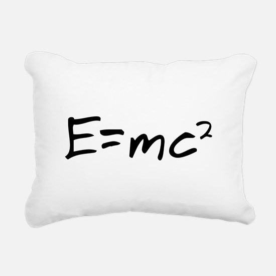 Theory of Relativity Rectangular Canvas Pillow