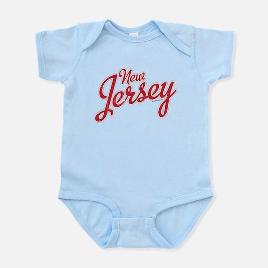 New Jersey Script Font Body Suit