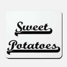 Sweet Potatoes Classic Retro Design Mousepad
