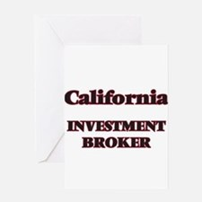 California Investment Broker Greeting Cards