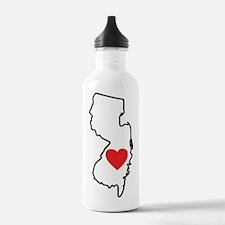 I Love New Jersey Water Bottle