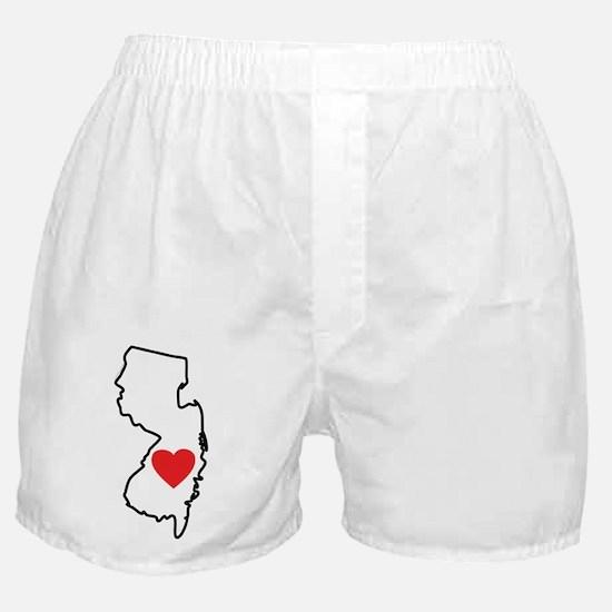I Love New Jersey Boxer Shorts
