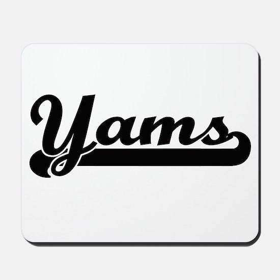Yams Classic Retro Design Mousepad