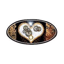 Steampunk, beautiful heart Patch