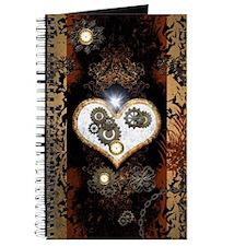Steampunk, beautiful heart Journal