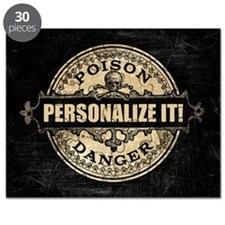 PERSONALIZED Poison Label Puzzle