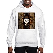 Steampunk, beautiful heart Hoodie