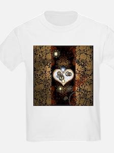 Steampunk, beautiful heart T-Shirt