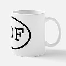 HDF Oval Mug