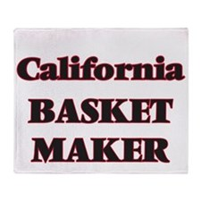 California Basket Maker Throw Blanket