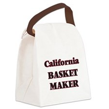 California Basket Maker Canvas Lunch Bag