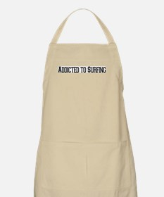 Addicted to Surfing BBQ Apron