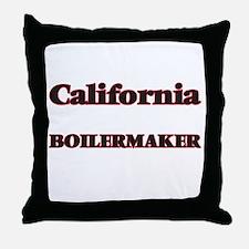 California Boilermaker Throw Pillow