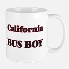California Bus Boy Mugs