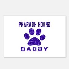 Pharaoh Hound Daddy Desig Postcards (Package of 8)