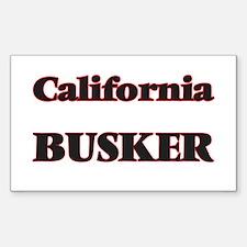 California Busker Decal
