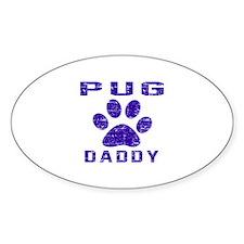 Pug Daddy Designs Decal