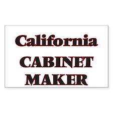 California Cabinet Maker Decal