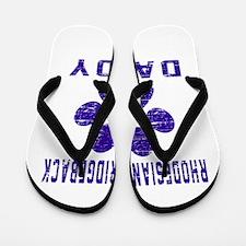 Rhodesian Ridgeback Daddy Designs Flip Flops