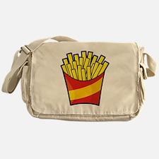 French Fries Messenger Bag