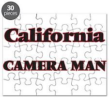 California Camera Man Puzzle