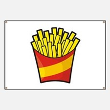 French Fries Banner