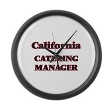 California Catering Manager Large Wall Clock
