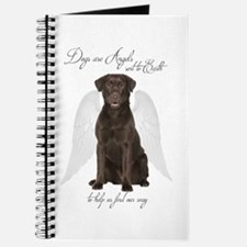 Chocolate Lab Angel Journal