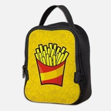French Fries Neoprene Lunch Bag