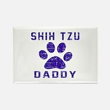 Shih Tzu Daddy Designs Rectangle Magnet