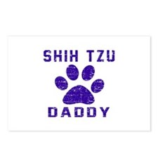 Shih Tzu Daddy Designs Postcards (Package of 8)