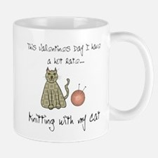knitting cat 1.png Mugs