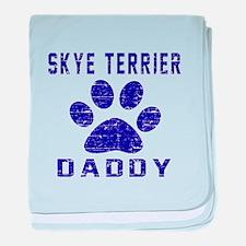Skye Terrier Daddy Designs baby blanket